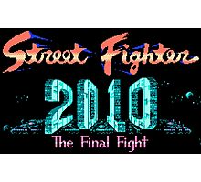 Street Fighter 2010 Photographic Print