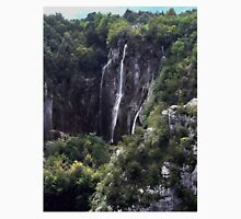 Waterfalls in Croatia Unisex T-Shirt