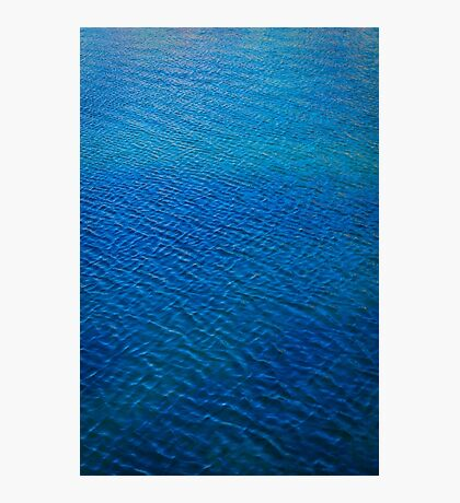 sea ripples Photographic Print