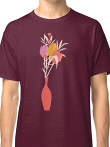 Spring flower pattern, tulips and lilies, 004 Classic T-Shirt