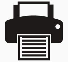 Printer One Piece - Short Sleeve