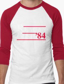 Reagan Bush '84 Retro Logo Men's Baseball ¾ T-Shirt