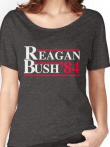 Reagan Bush '84 Retro Logo Women's Relaxed Fit T-Shirt