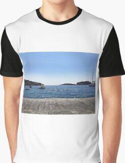 Ocean in Croatia Graphic T-Shirt