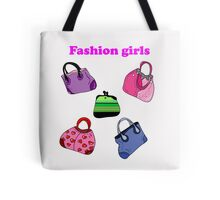 Multicolored fashion bags  Tote Bag
