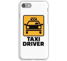 Taxi driver iPhone Case/Skin