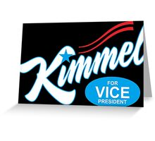 jimmy kimmel Greeting Card