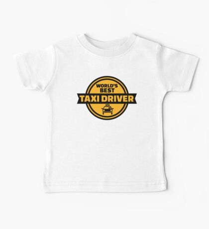 World's best taxi driver Baby Tee