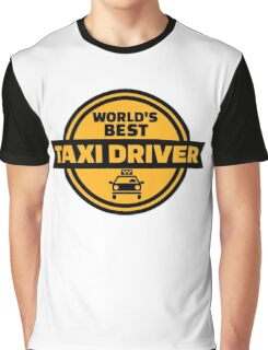 World's best taxi driver Graphic T-Shirt