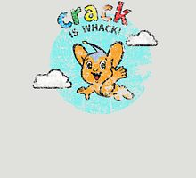Pipo-Kun - Crack is Whack! - Distressed Unisex T-Shirt