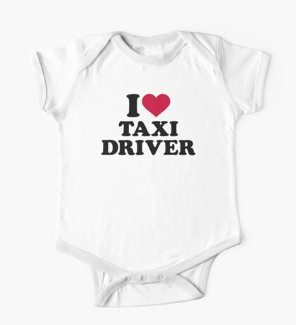 I love taxi driver One Piece - Short Sleeve