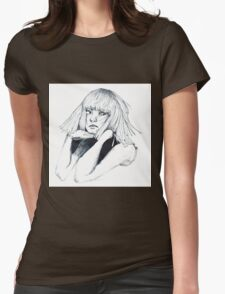 Sia - Chandelier Womens Fitted T-Shirt