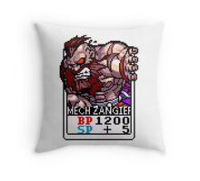 Mech Zangief Throw Pillow