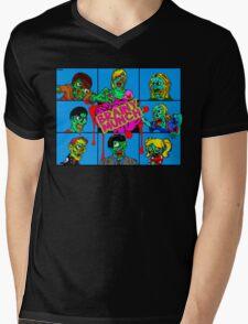 The Brainy Munch Mens V-Neck T-Shirt