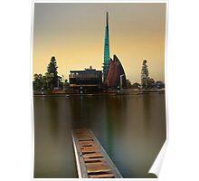 Swan Bell Tower - Perth Western Australia Poster