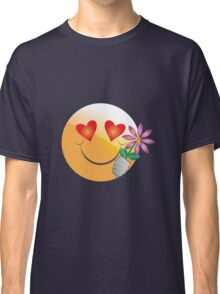 Romantic smiley Classic T-Shirt