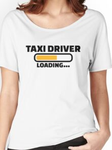 Taxi driver loading Women's Relaxed Fit T-Shirt
