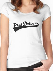 Taxi driver Women's Fitted Scoop T-Shirt