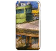 The Green Fisher Boat iPhone Case/Skin