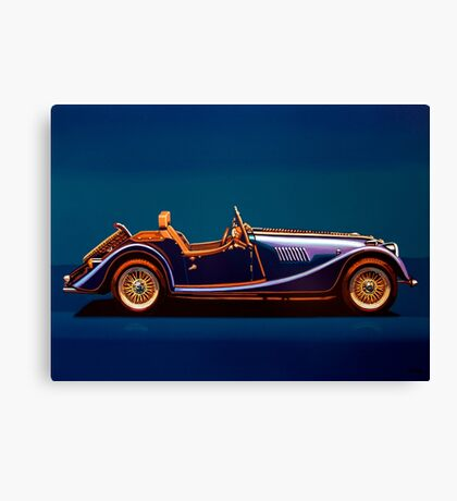 Morgan Roadster Painting Canvas Print