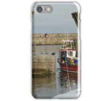 Leaving Harbour iPhone Case/Skin