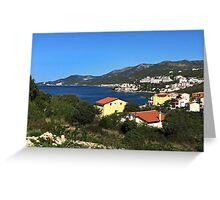 Tiled Roofs of Dubrovnik, Croatia Greeting Card