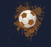Soccer ball art Kids Tee