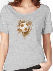 Soccer ball art Women's Relaxed Fit T-Shirt