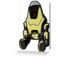 Protectron Greeting Card