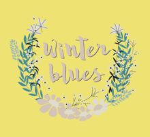Winter Blues 004 Kids Tee