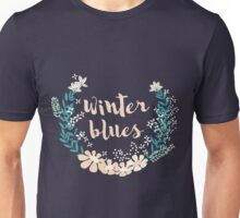 Winter Blues 004 Unisex T-Shirt