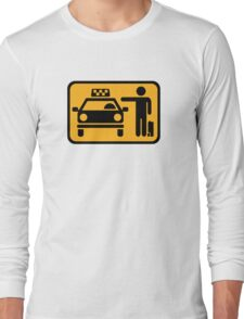 Taxi station Long Sleeve T-Shirt