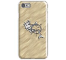 Chrome Mermaid in Sand iPhone Case/Skin