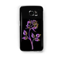 Purple Rose Samsung Galaxy Case/Skin
