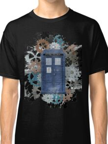 The Blue Box, Doctor Who inspired Art Classic T-Shirt