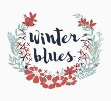 Winter Blues 002 One Piece - Short Sleeve
