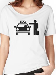 Taxi station passenger Women's Relaxed Fit T-Shirt