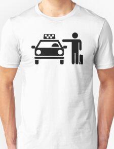 Taxi station passenger T-Shirt