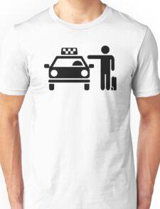 Taxi station passenger Unisex T-Shirt