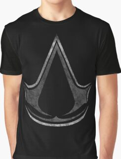 °ASSASSIN'S CREED° B&W Logo Graphic T-Shirt