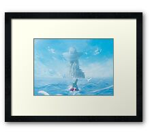 Fresh Air by the Sea (2nd run - 35 left!) Framed Print