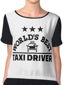 World's best taxi driver Chiffon Top