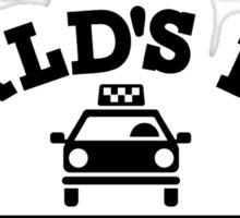 World's best taxi driver Sticker