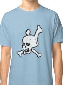 Funny Skull and crossbones  Classic T-Shirt