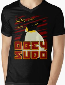 Obey SUDO Mens V-Neck T-Shirt