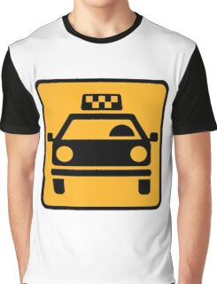 Taxi logo Graphic T-Shirt