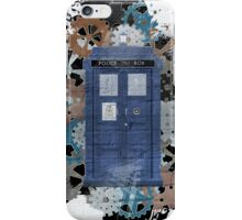 The Blue Box, Doctor Who inspired Art iPhone Case/Skin