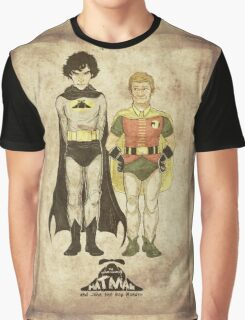 The Adventures of Hat-man and John the Boy Wonder Graphic T-Shirt
