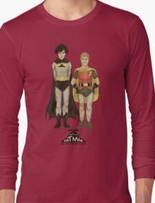 The Adventures of Hat-man and John the Boy Wonder Long Sleeve T-Shirt