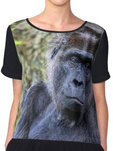 Old Gorilla I Women's Chiffon Top